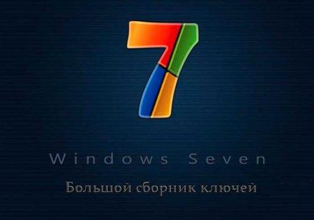 windows 7 keys
