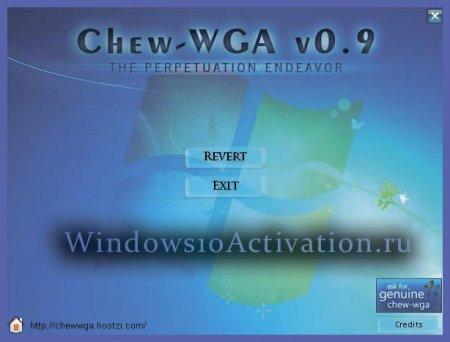 chew wga windows